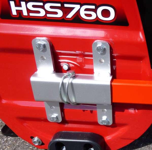 Halterungssatz / Anbauhalter für Schneeschild 100x40cm  - Länge 140 mm Höhe 170 mm